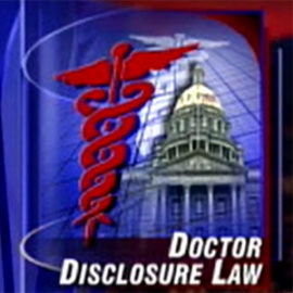 Doctor Disclosure Law